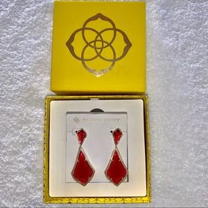 "Kendra Scott Gold Berry ""Alexa"" Drop Earrings"